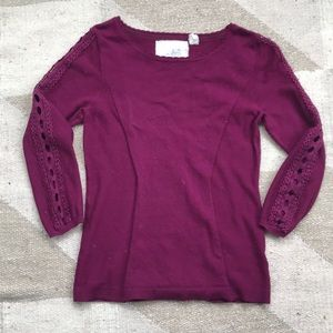 Anthropologie sweater XS